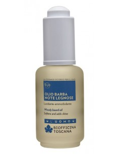 Olio barba note legnose - Biofficina Toscana