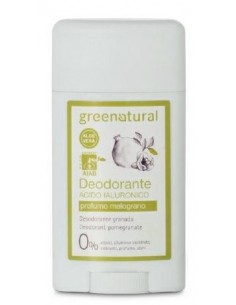 Deodorante Gel Ialuronico - Melograno - Greenatural