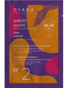 Patch Occhi n°2 Illuminante Riposante - Gyada Cosmetics