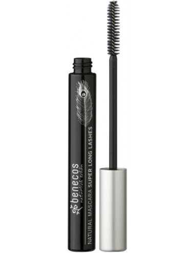 Natural Mascara  Super Long Lashes - CARBON BLACK - Benecos