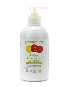 Detergente Mani Viso Multivitamine ACE 400ml - Greenatural