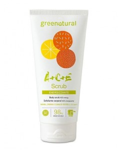 Scrub corpo energizzante Multivitamine ACE 200ml - Greenatural