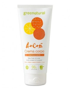 Crema corpo energizzante Multivitamine ACE 200ml - Greenatural