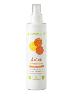 Crema spray corpo Multivitamine ACE 200ml - Greenatural