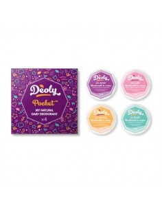 Deoly Pocket 4 travel size - Latte & Luna