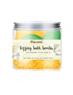 Bombe Frizzanti da Bagno Orange - Green Tea - Nacomi