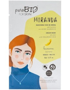 Cream mask - MIRANDA - banana - Purobio