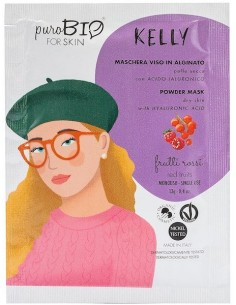 Powder mask - KELLY - frutti rossi - Purobio