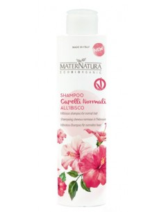 Shampoo Capelli normali all'ibisco 250ml - Maternatura