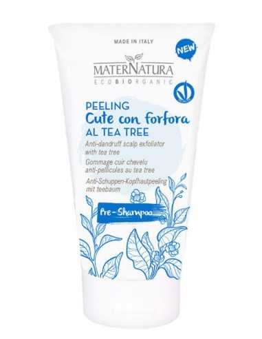 Peeling cute con forfora al Tea Tree - Maternatura