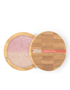 Shine up Powder Duo 311 Rosa e Oro - Zao Organic