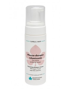 Mousse shampoo volumizzante 150ml - Biofficina Toscana
