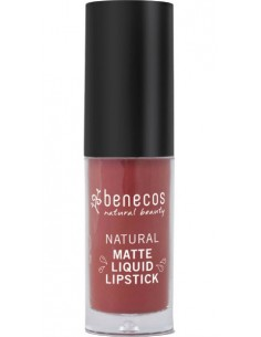 Natural Matte Liquid Lipstick - TRUST IN RUST - Benecos