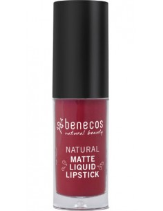 Natural Matte Liquid Lipstick - BLOODY BERRY - Benecos