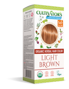 Tinta Vegetale Light Brown (castano chiaro) - Cultivator's