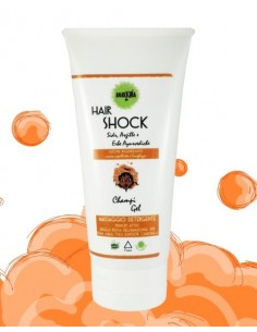 Hair Shock Fuoco - Champi Gel Rigenerante 200ml - Anarkhìa Bio