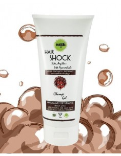 Hair Shock Terra - Champi Gel Crescita 200ml - Anarkhìa Bio
