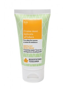 Crema Mani Delicata all'Edera 50ml - Biofficina Toscana