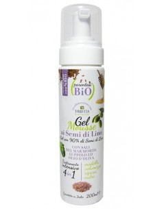 Gel Mousse ai Semi di lino 200ml - Parentesi Bio