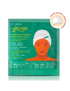 Hyalurvedic Impacco Ayurvedico in Tessuto Fortificante - Gyada Cosmetics
