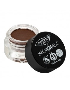 Brow made - pasta per sopracciglia 02 Marrone Caldo 4ml - PuroBio