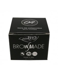 Brow made - pasta per sopracciglia 04 Carbone 4ml - PuroBio
