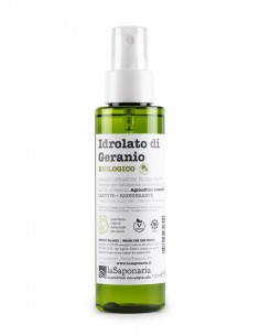 Idrolato di geranio bio Re Bottle Spray - La Saponaria