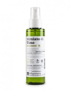 Idrolato di timo bio Re Bottle Spray - La Saponaria