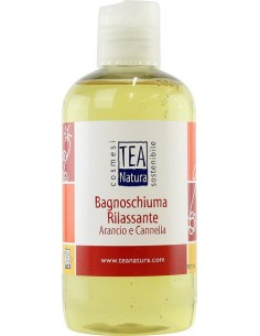Bagnoschiuma Rilassante Arancio e Cannella 250ml TEA NATURA