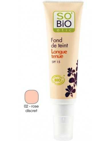 FONDOTINTA LONGUE TENUE - 02 ROSE DISCRET - So' Bio Etic -