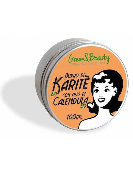 Burro di Karite Calendula - Green & Beauty -