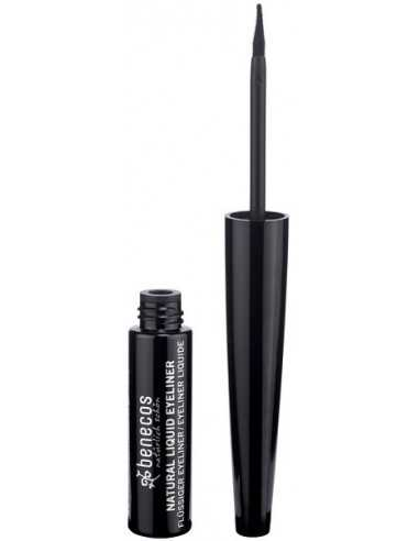 Natural Liquid Eyeliner - BLACK - Benecos -