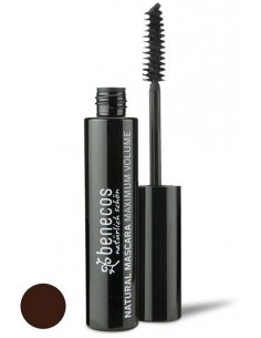 Natural Mascara Maximum Volume - SMOOT BROWN - Benecos