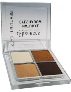 Natural Quattro Eyeshadow COFFEE & CREAM - Benecos -