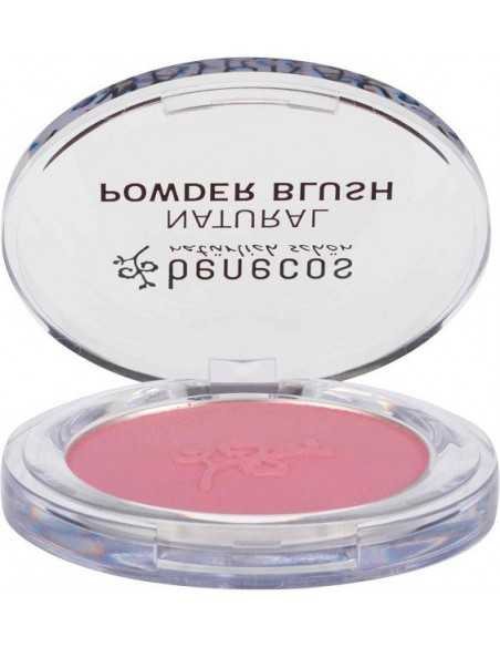 Compact blush - MALLOW ROSE - Benecos -