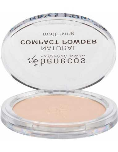 Natural Compact Powder - PORCELAIN - Benecos -
