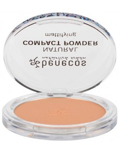 Natural Compact Powder - BEIGE - Benecos -