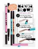 Manga Brows RICH BROWN & BLACK BROWN - Neve Cosmetics -