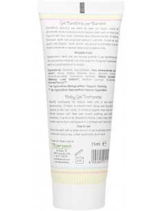 Gel Dentifricio bambini alla fragola - Anthyllis -