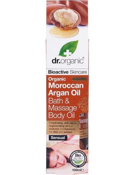 Bath & Massage Body Oil Argan - Dr Organic -
