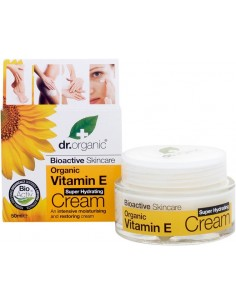 Super Hydrating Cream Vitamina E - Dr Organic -