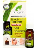 Organic Tea Tree Nail Solution - Dr Organic -