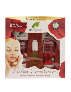 Cofanetto Regalo - Rose otto Perfect complexion - Dr Organic -