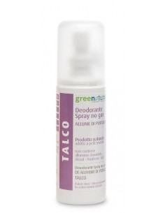 Deodorante Spray Talco - Greenatural -