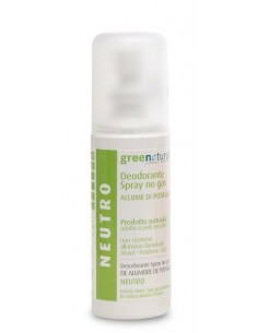 Deodorante Spray Neutro - Greenatural