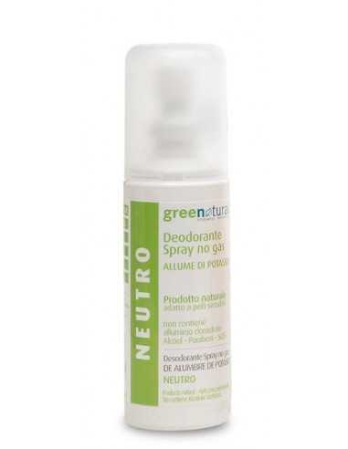 Deodorante Spray Neutro - Greenatural -