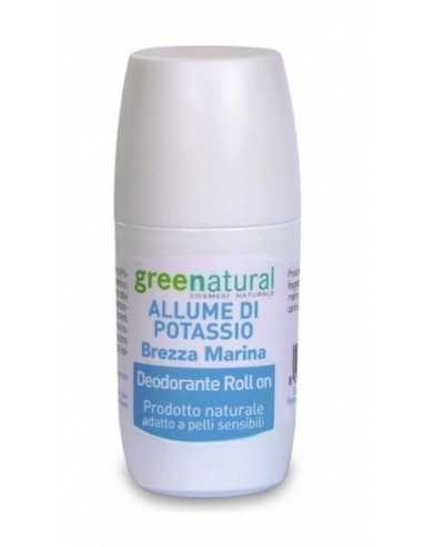 Deodorante Roll On Brezza Marina - Greenatural -