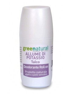 Deodorante Roll On Talco - Greenatural -