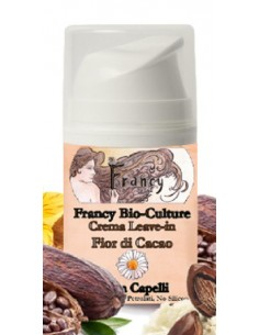 Crema Leave-in - Fior di Cacao - Francy Bio-Culture -