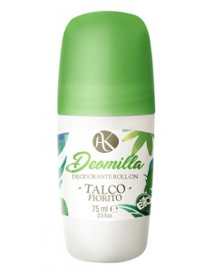 Deodorante Roll On - Talco Fiorito - Alkemillia